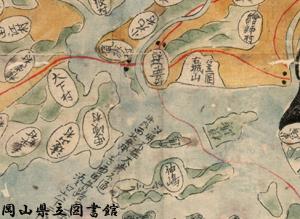 備中国地図