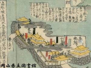 備中国高松水攻之図